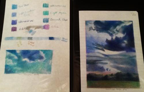 Sky studies (2)